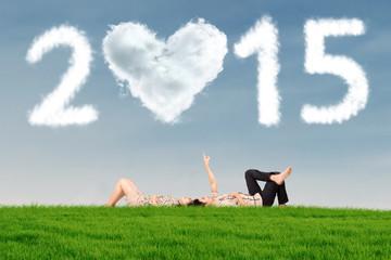 Couple under cloud 2015