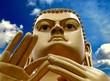 Golden Buddha in Dambulla, Sri Lanka.