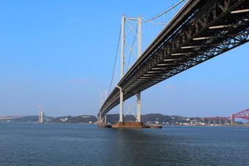 Underneath The Forth Road Bridge