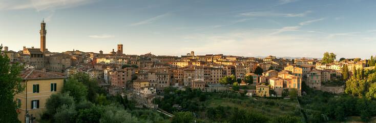 Panorama of city Siena, Tuscany, Italy