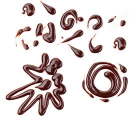 sweet chocolate sauce