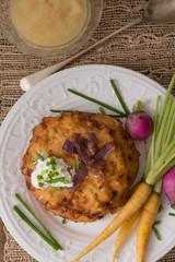 Potato Pancakes for Hannukah : Latkes