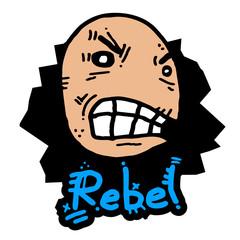 Rebel puppet