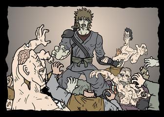 Horror zombies