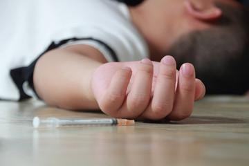 Overdose Drug Addict