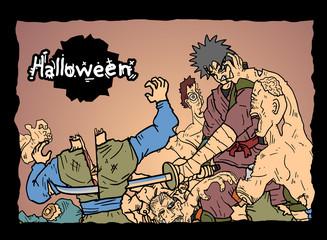 Comic halloween