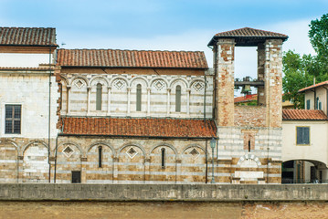 Campanile Chiesa e convento di San Matteo, Pisa