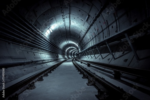 Foto op Plexiglas Tunnel Underground nuclear shelter for fallout