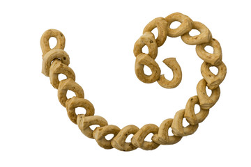 "traditional italian biscuits called ""taralli"""