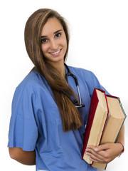attractive young female nurse