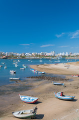 Ferragudo, Portugal. Little fisher and turistic town in Algarve