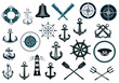 Set of nautical icons - 70495222