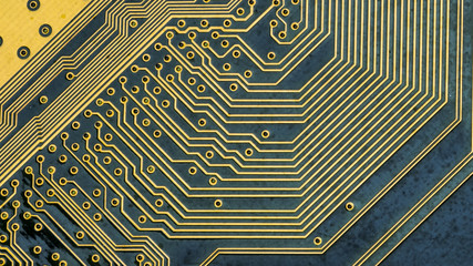 Background of circuit board.
