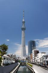 十間橋かたら見た東京スカイツリー