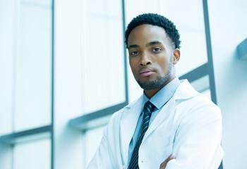 Confident heatlhcare professional
