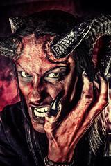 angry satan