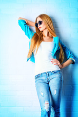 jeans fashion style