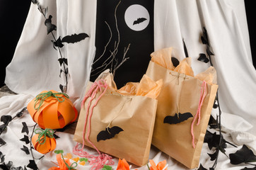 Spooky candy bags