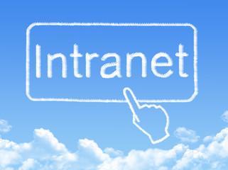 Intranet message cloud shape