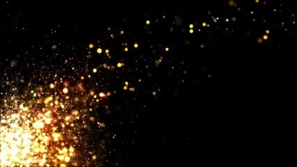 Glitter Gold Rising