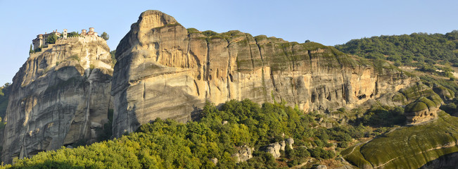 Meteora valley panorama