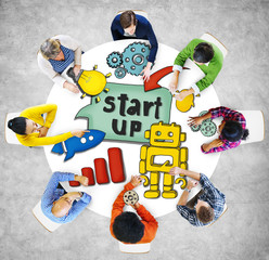 People and Startup Business Concepts