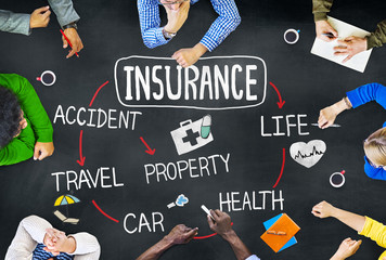 Group of Multiethnic People Discussing About Insurance