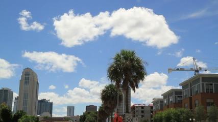 Orlando FL City Sky Line Shot Five