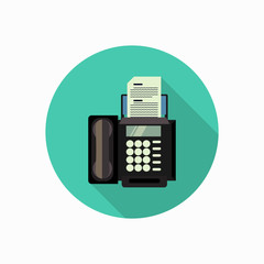 fax icon illustration