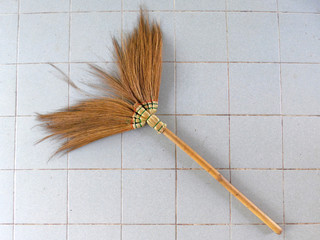 Old obsolete broom