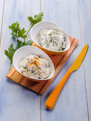 tzatziki traditional greek appetizer
