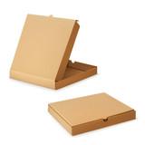 Cardboard box for pizza, vector illustration - 70503853
