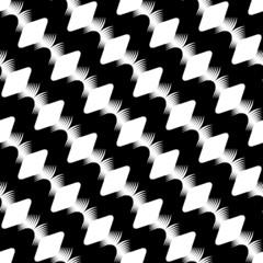 Design seamless stripy diamond zigzag pattern