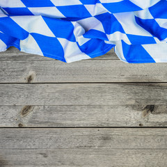 Bayern Raute auf Holz 1