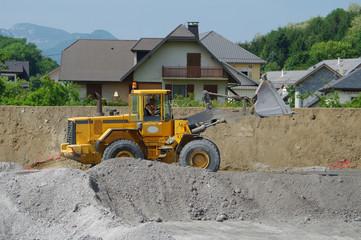 chantier - terrassement