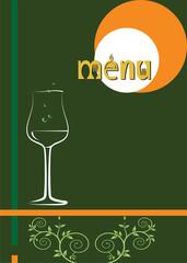 Wine Menu Design Template