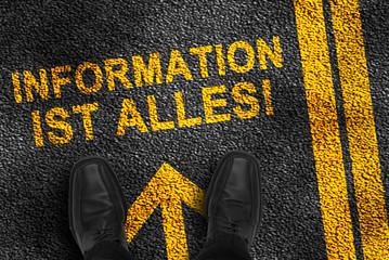 information ist allses
