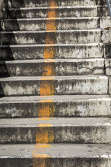 steps on overpass