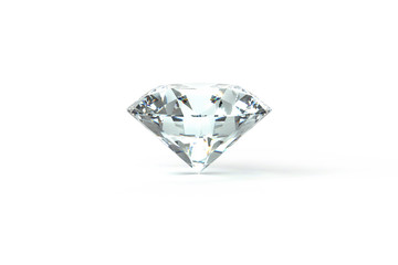 Diamond White Background