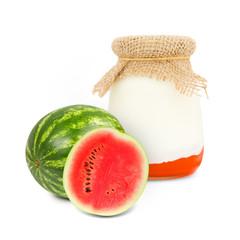 Melon yogurt