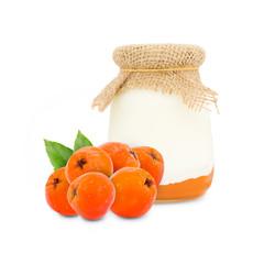 Rowanberry yogurt