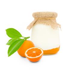 Tangerine yogurt
