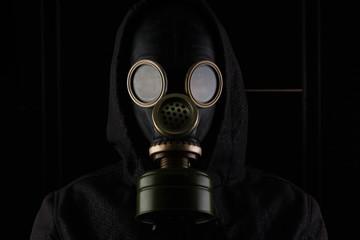 Mascara de gas.