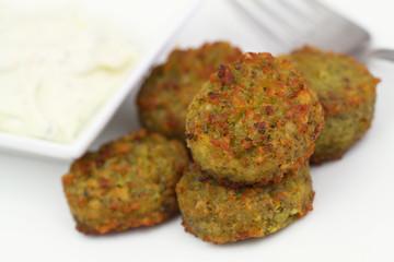Falafel, close up