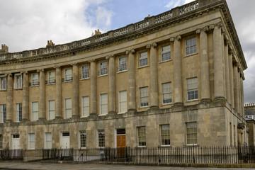 buildings at the Royal crescent, Bath