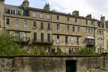 rear Georgian facades n1, Bath