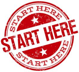 start here stamp