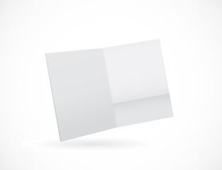 folder paper opened