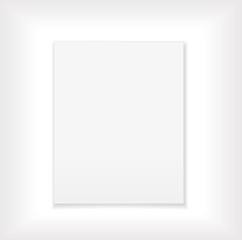 white paper blank design