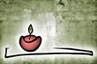 vintage candlelight background
